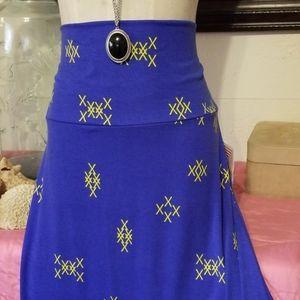 NWT  Sz. 3X Lularoe simply comfortable maxi skirt